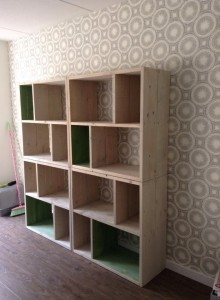 Steigerhout, interieur, kleur, studio steigerhout