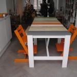 Stijlvolle kloostertafel van steigerhout