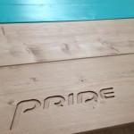 Pride logo gefreest