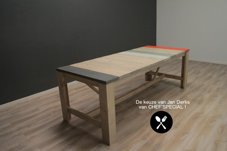 Tafel Met Opbergruimte : Tafel van steigerhout met opbergruimte antraciet grijs wit bedden